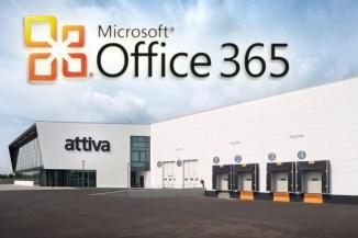 Attiva distribuisce Microsoft Office 365