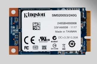 Kingston Digital, nuovi drive mSATA da 240 e 480 GByte