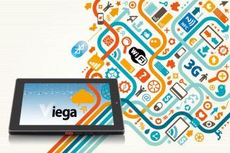 VIA Viega, tablet professionale ad alta resistenza