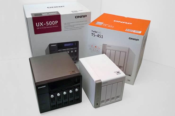 QNAP Turbo NAS TS-451 e UX-500P, storage scalabile per le PMI