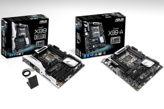 Asus, tre nuove motherboard con chipset X99