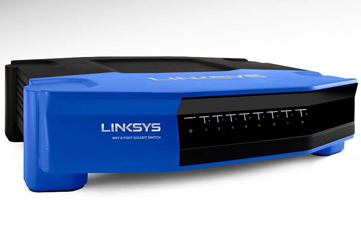 Linksys WRT SE4008, switch compatto per i piccoli uffici