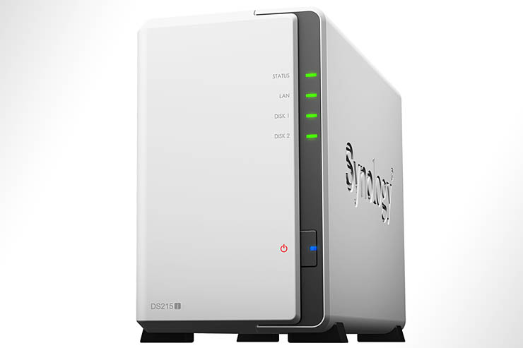 Synology DiskStation DS215j, storage dual bay per ambienti Soho