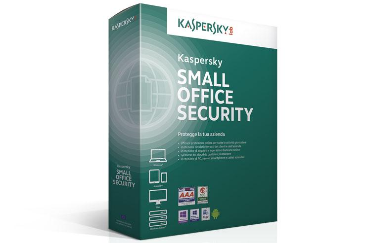 Kaspersky Small Office Security, la suite per le microimprese