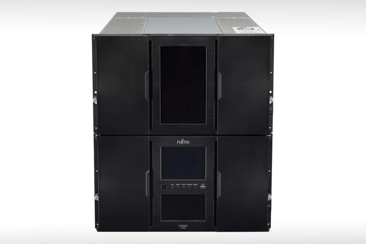 Fujitsu ETERNUS LT260 Tape Library, capacità su scala Pbyte