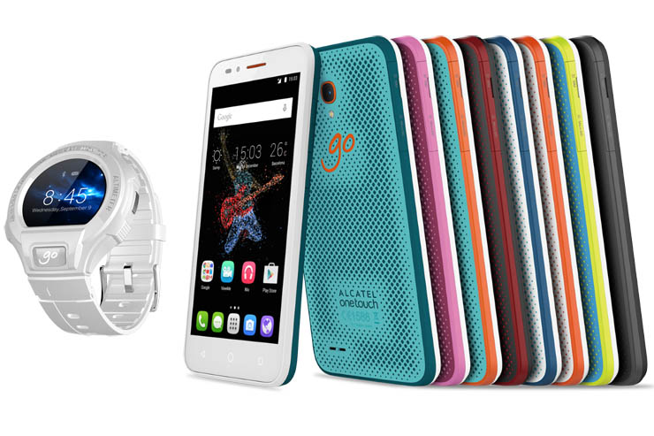 Alcatel GO PLAY e GO WATCH, mobilità senza limiti