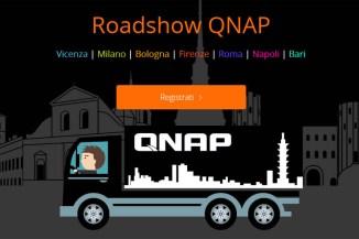 QNAP QTruck, il roadshow itinerante per parlare di network storage