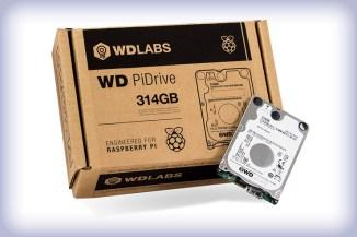 WD PiDrive 314GB, storage a basso consumo per Raspberry Pi
