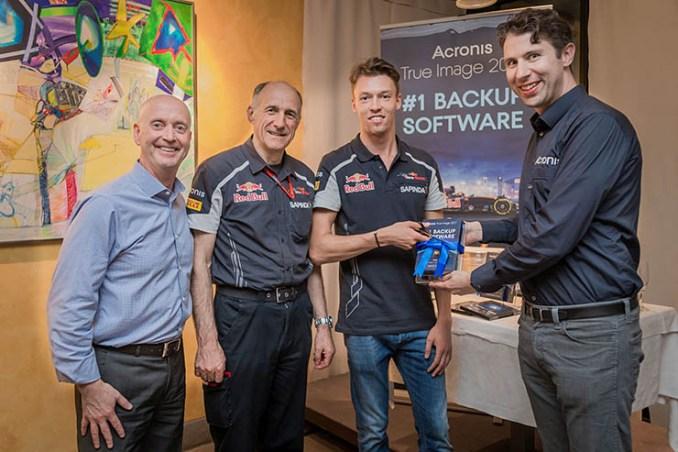 Acronis Backup 12 e True Image 2017, performance da Formula 1