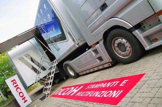 Ricoh Workstyle Innovation Roadshow, l'innovazione viaggia su gomma