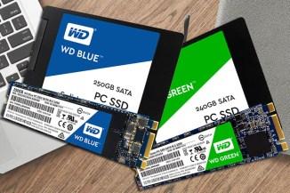 WD Blue e Green SSD, Western Digital si riaffaccia sul mercato Solid State