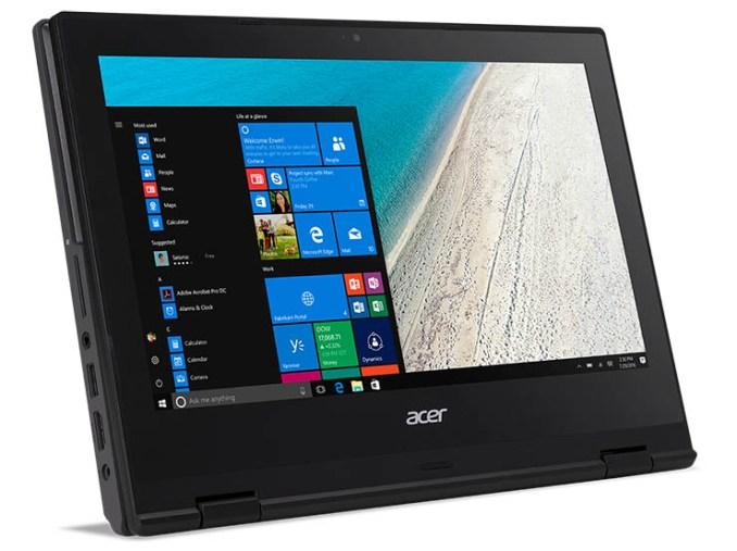 Acer TravelMate Spin B1, versatile e robusto per la scuola