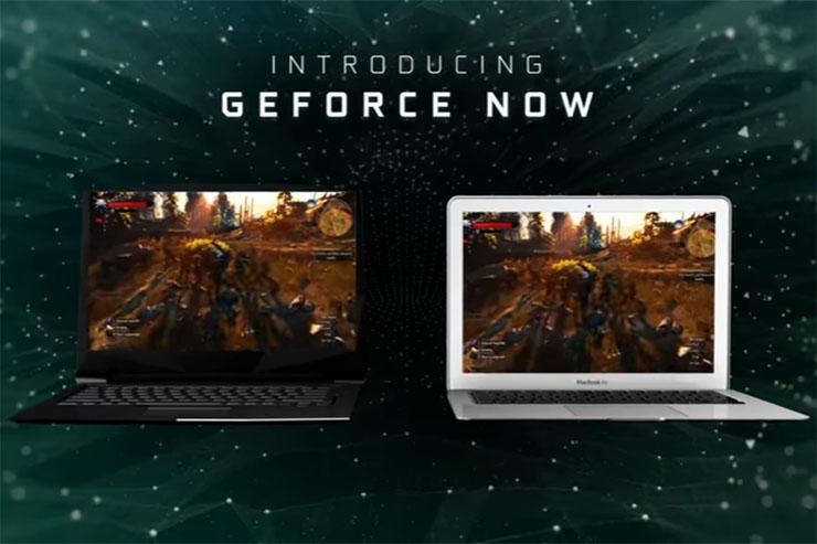 Nvidia GeForce NOW, il gaming cloud-based per PC e MAC