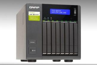 QNAP TVS-882ST2, storage Thunderbolt 2 e 10 GbE