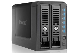 Thecus N2350, NAS dual-bay per la smart home