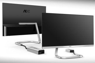 AOC e Porsche sviluppano gli eleganti monitor serie PDS