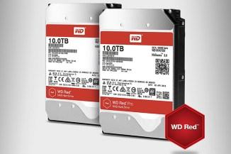 WD Red e Red Pro da 10 TByte, storage avanzato Helium-Based