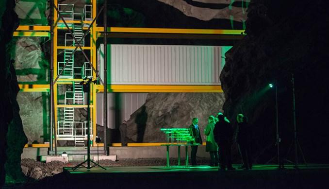 Lefdal Mine, il datacenter efficiente costruito in una miniera