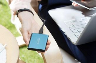 Samsung SSD T5, storage portatile ultraveloce V-NAND