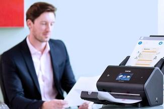 Brother ADS-3600W, network scanner compatto per le imprese