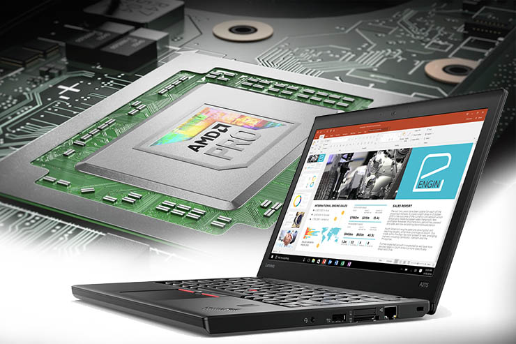 Lenovo, nuovi notebook ThinkPad A con architettura AMD Pro