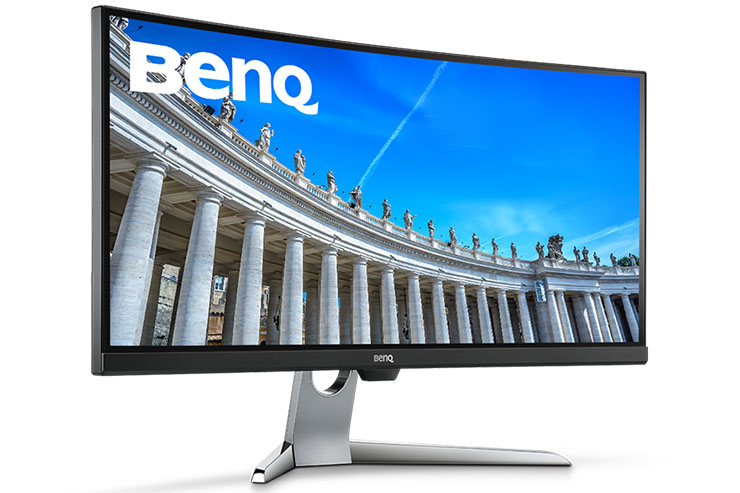 """BenQ EX3501R, monitor curvo da 35"""" smart e potente"""
