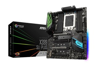 MSI X399 SLI PLUS, per workstation Amd Ryzen Threadripper