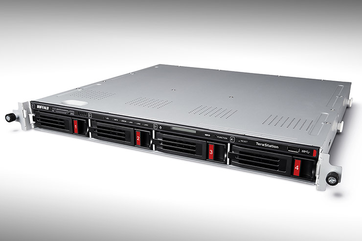 Buffalo TeraStation 5410RN, storage rack per consolidare il business