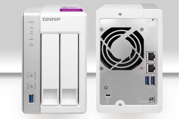 QNAP TS-231P2, il NAS piccolo ma potente con supporto snapshot