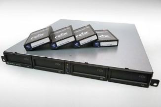 Overland-Tandberg RDX QuikStation 4, backup rimovibile affidabile