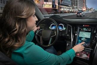 CES, Bosch semplifica e riconfigura l'abitacolo del veicolo
