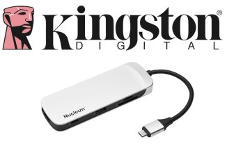 Kingston Nucleum, hub 7-in-1 USB Type-C per MacBook