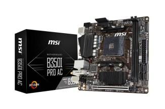 MSI B350I PRO AC, la potenza di AMD Ryzen in formato mini-ITX