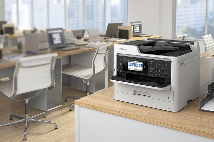 Epson WorkForce Pro WF-C5000, business inkjet risparmiosi