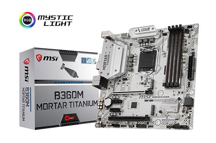 MSI, arrivano le motherboard con chipset H370, B360 e H310