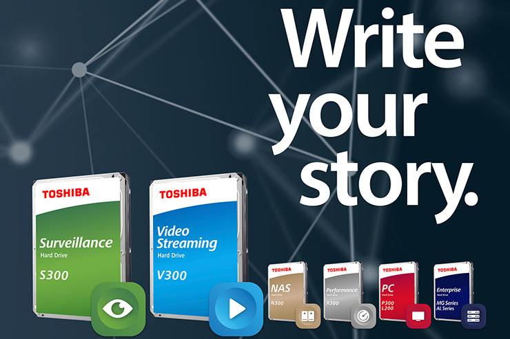 Videosorveglianza e streaming, arrivano Toshiba S300 e V300