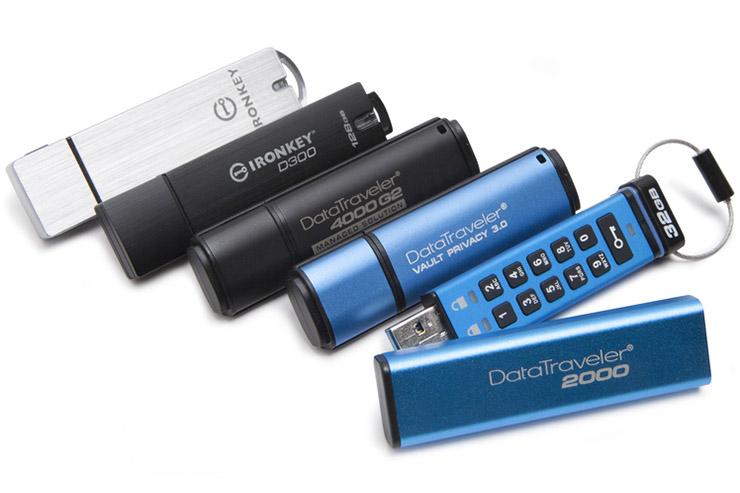 Le unità Flash USB crittografate Kingston aiutano la security