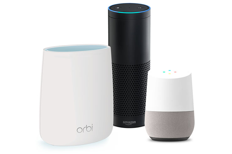 Netgear Orbi: Wi-Fi Mesh, smart speaker e satelliti outdoor