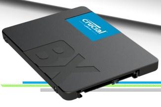 Crucial BX500, storage SSD veloce per upgrade economici