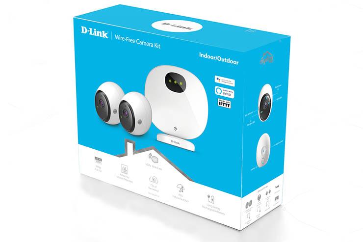 DCS-2802KT-EU, il kit di videosorveglianza home di D-Link