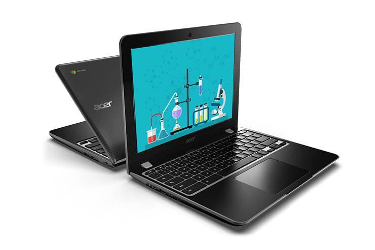 """Acer, nuovi Chromebook da 12"""" per le aule scolastiche"""