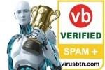 A marzo ESET ha ricevuto la certificazione VBSpam+