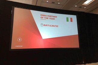 Fortinet in Emea, Maticmind premiata Partner of the Year 2018