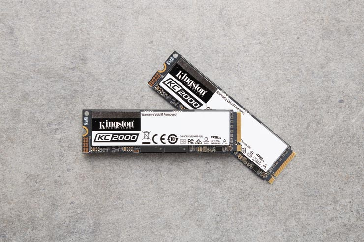 Kingston KC2000, storage NVMe per esperti ed enterprise