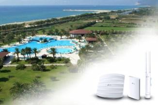 TP-Link, il networking del Club Hotel Marina Beach di Orosei