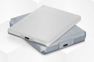 LaCie Mobile Drive, l'hard disk nella finitura Space Grey