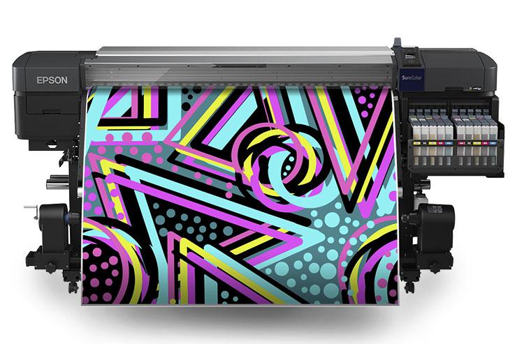 Stampare con inchiostro fluorescente? Con Epson SC-F9400H si può