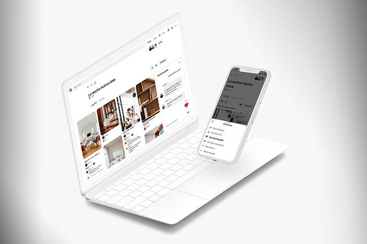 Pinterest stimola la collaborazione con nuovi strumenti