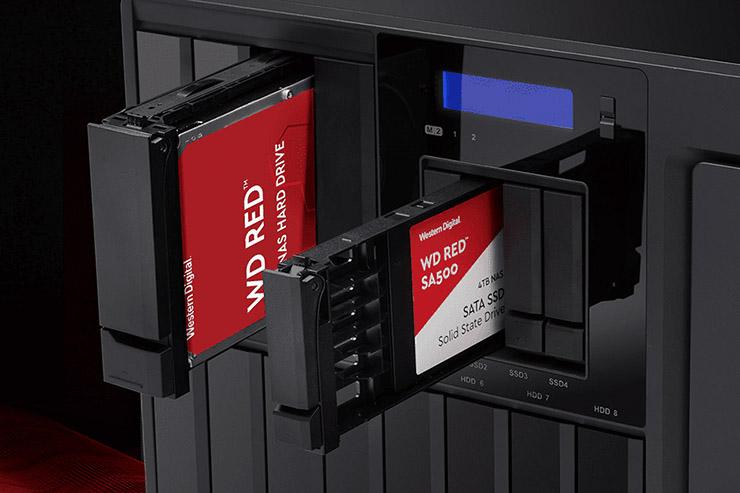 Western Digital porta al debutto lo storage NAS WD Red SSD