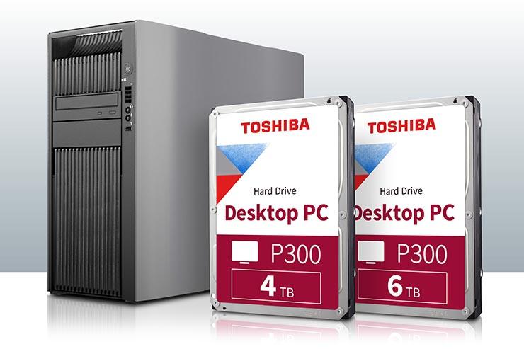 P300 Desktop PC Hard Drive Toshiba si amplia con due unità
